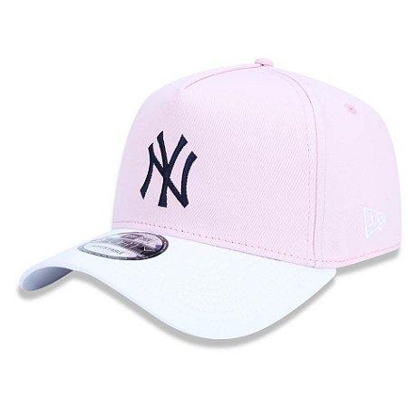 Boné New York Yankees 940 Blocked Pastels Rounded - New Era
