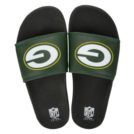 Chinelo Green Bay Packers Slip On Colors - NFL