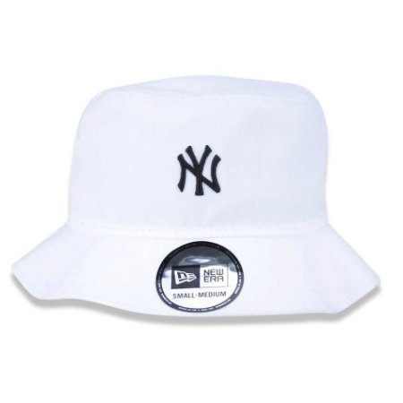 Chapéu Bucket New York Yankees MLB NY P/M Branco - New Era