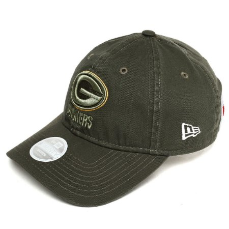 b4ee2581d2 Boné Green Bay Packers 920 Salute to Service Woman - New Era - FIRST ...
