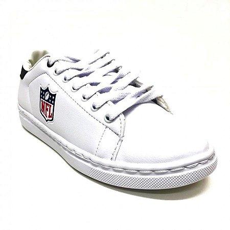 f4d91440543 Tenis Sapatenis NFL Logo Branco - FIRST DOWN - Produtos Futebol ...