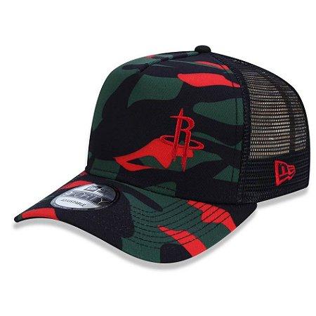 Boné Houston Rockets 940 Camo Dark - New Era