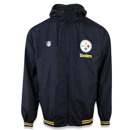 Jaqueta Quebra vento Pittsburgh Steelers Sport School - New Era