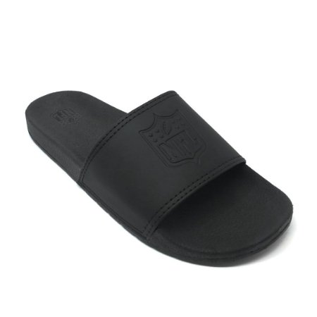 Chinelo NFL Slip All Black - NFL