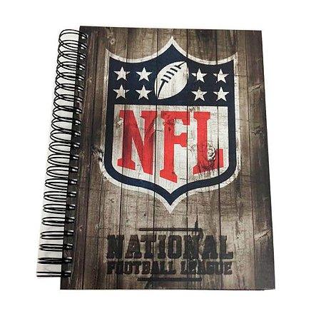 Caderno Team Wood NFL Logo