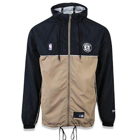 Jaqueta Windbreaker Quebra vento Brooklyn Nets Sport School - New Era