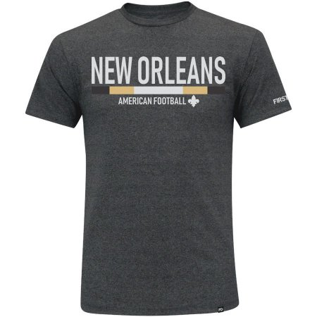 Camiseta First Down New Orleans Futebol Americano