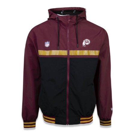Jaqueta Quebra vento Washington Redskins Vintage Color New Era
