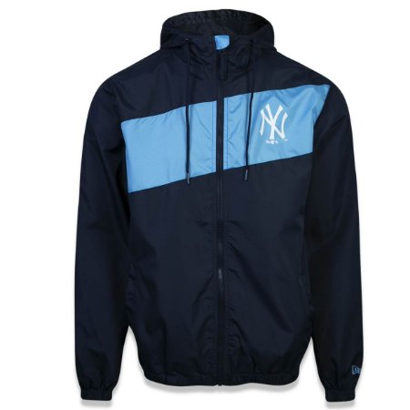 Jaqueta Windbreak New York Yankees Motorsport Strip - New Era
