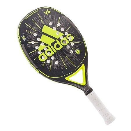 Raquete Beach Tennis Adidas V6 Verde Claro