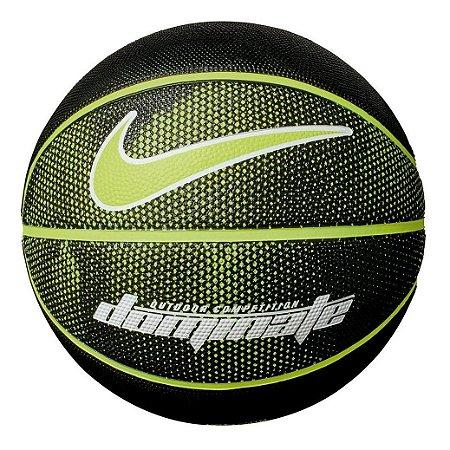 Bola de Basquete Nike Dominate Verde Preto