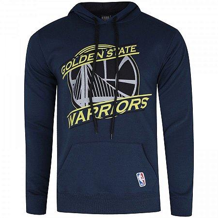 Casaco Moletom NBA Golden State Warriors Basic