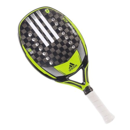 Raquete Beach Tennis Adipower Attack Preto/Verde - Adidas