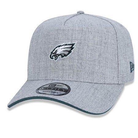Boné Philadelphia Eagles 940 Essentials Stripe Trucker - New Era