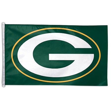 Bandeira Grande 90x150 NFL Green Bay Packers