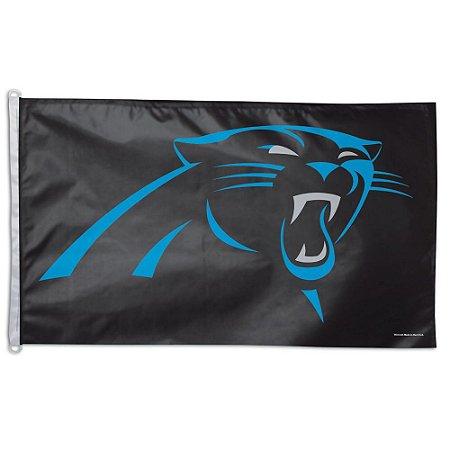 Bandeira Grande 90x150 NFL Carolina Panthers