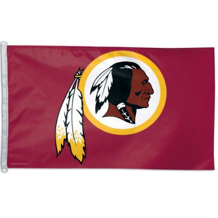 Bandeira Grande 90x150 NFL Washington Redskins