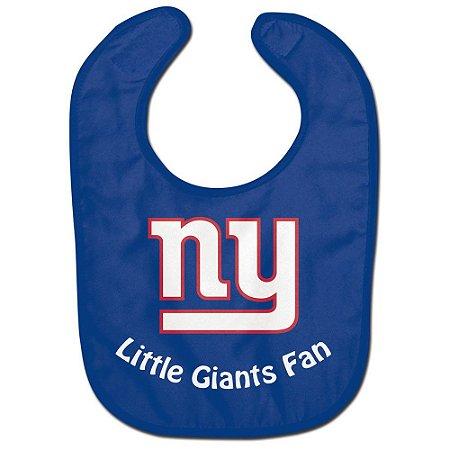 Babador Infantil Pequeno Fã New York Giants