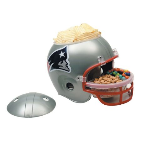 Capacete Snack Helmet Aperitivos GameDay New England Patriots