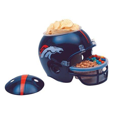Capacete Snack Helmet Aperitivos GameDay Denver Broncos