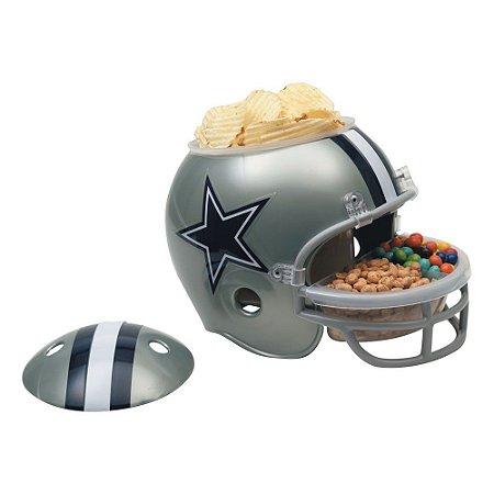 Capacete Snack Helmet Aperitivos GameDay Dallas Cowboys