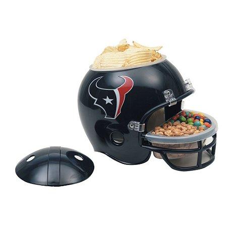 Capacete Snack Helmet Aperitivos GameDay Houston Texans