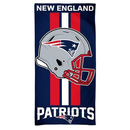 Toalha de Praia e Banho Standard New England Patriots