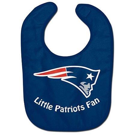 Babador Infantil Pequeno Fã New England Patriots
