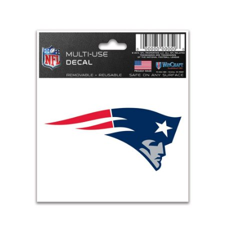 Adesivo Multi-Uso 8x10 NFL New England Patriots
