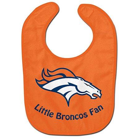 Babador Infantil Pequeno Fã Denver Broncos