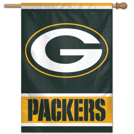 Bandeira Vertical 70x100 Logo Team Green Bay Packers