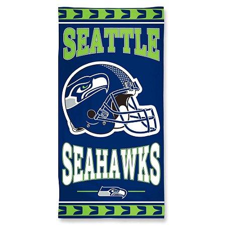 Toalha de Praia e Banho Standard Seattle Seahawks