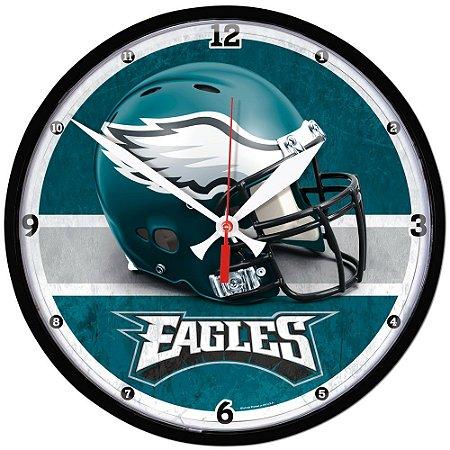 Relógio de Parede NFL Philadelphia Eagles 32cm