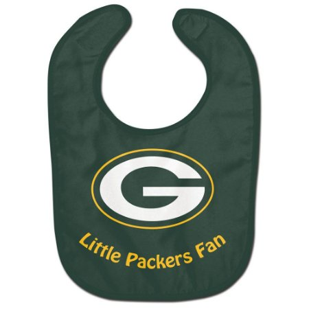Babador Infantil Pequeno Fã Green Bay Packers