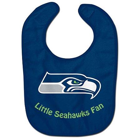 Babador Infantil Pequeno Fã Seattle Seahawks