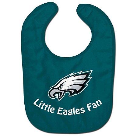 Babador Infantil Pequeno Fã Philadelphia Eagles