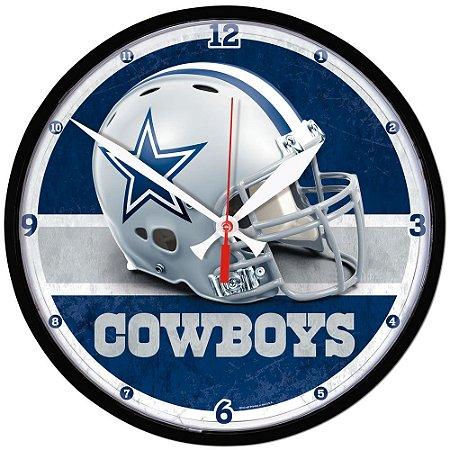 Relógio de Parede NFL Dallas Cowboys 32cm