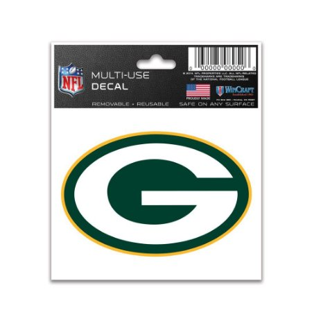 Adesivo Multi-Uso 8x10 NFL Green Bay Packers