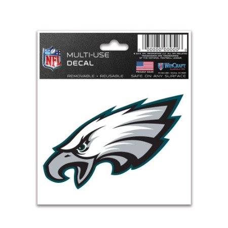 Adesivo Multi-Uso 8x10 NFL Philadelphia Eagles