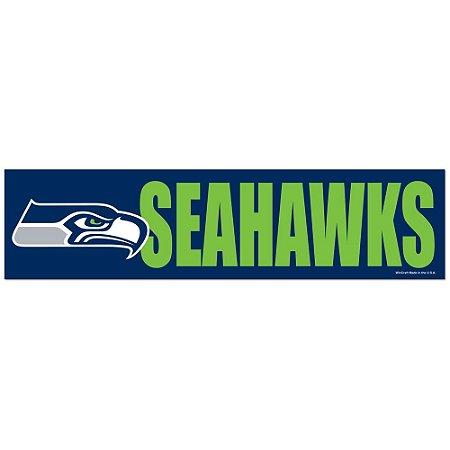 Adesivo Faixa Bumper Strip 30x7,5 Seattle Seahakws