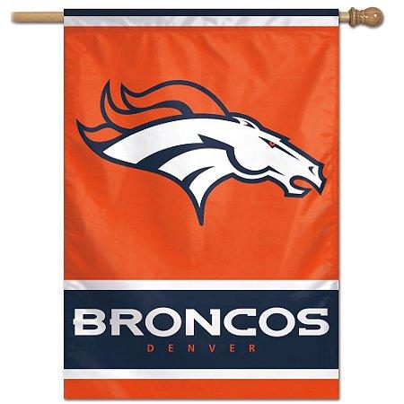 Bandeira Vertical 70x100 Logo Team Denver Broncos