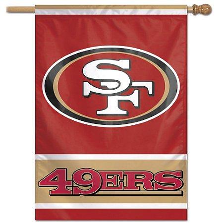 Bandeira Vertical 70x100 Logo Team San Francisco 49ers