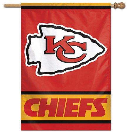 Bandeira Vertical 70x100 Logo Team Kansas City Chiefs