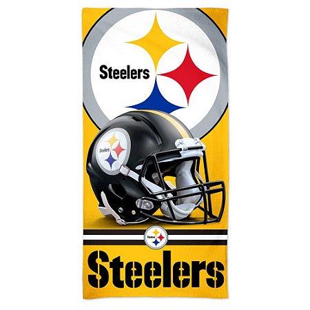 Toalha de Praia e Banho Spectra Pittsburgh Steelers