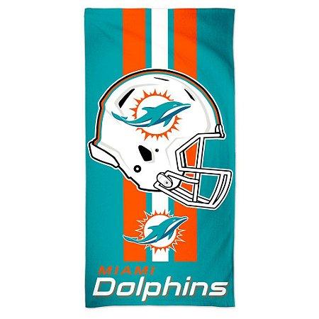 Toalha de Praia e Banho Standard Miami Dolphins
