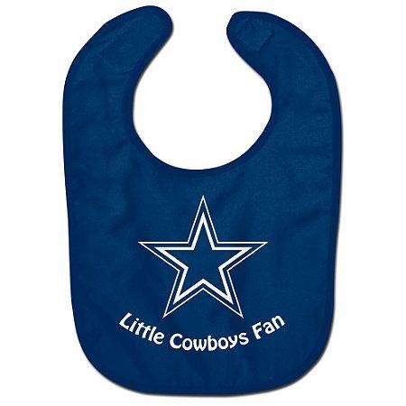 Babador Infantil Pequeno Fã Dallas Cowboys