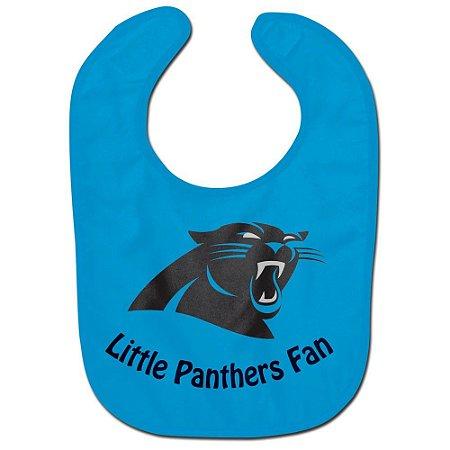 Babador Infantil Pequeno Fã Carolina Panthers