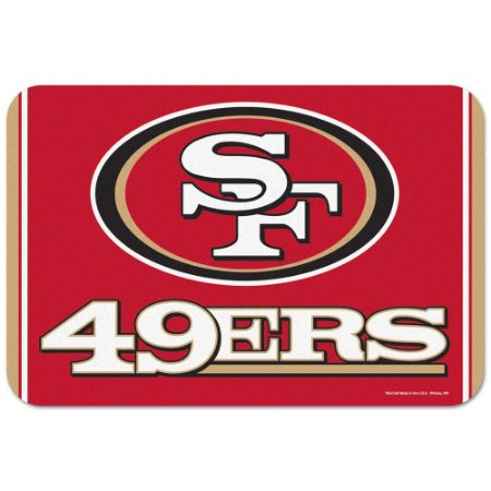 Tapete Decorativo Boas-Vindas NFL 51x76 San Francisco 49ers