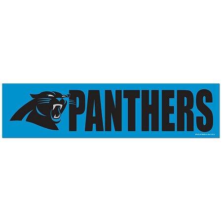 Adesivo Faixa Bumper Strip 30x7,5 Carolina Panthers
