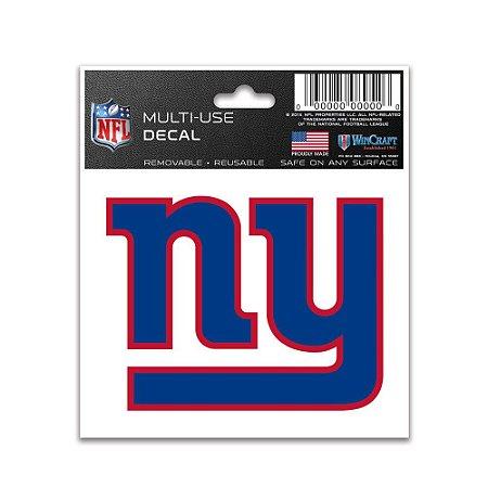 Adesivo Multi-Uso 8x10 NFL New York Giants
